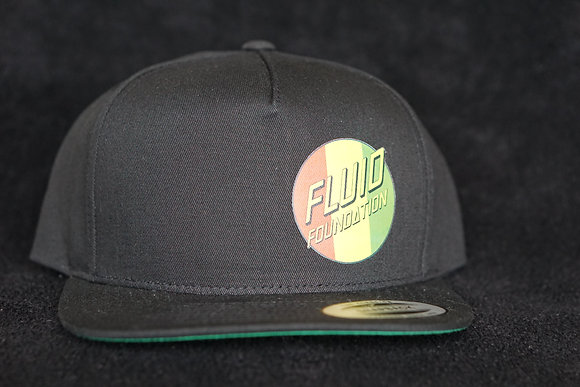 SMOKEY LOGO HAT BLACK SNAPBACK