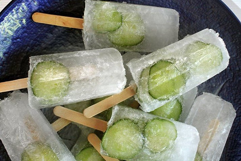 Cucumber Gin and Tonic (Poptails)