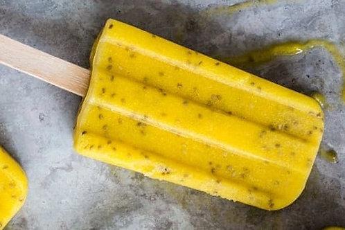 Mango Chia Popsicles (Vegan)