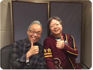 谷村新司さんを、2ヶ月連続のゲストとしてお招きしました。