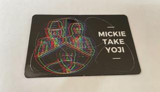 ミタヨのピックカードが出来ました。