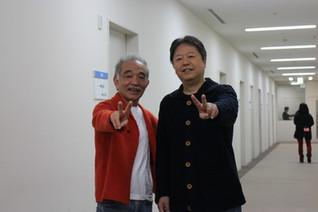 ミュージックフェアの収録の日に、山田パンダさんとバッタリ!