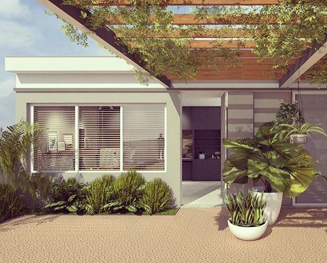 Projeto para edícula - escritório, pronto para início de obra! - #edícula #projetodearquitetura #arq