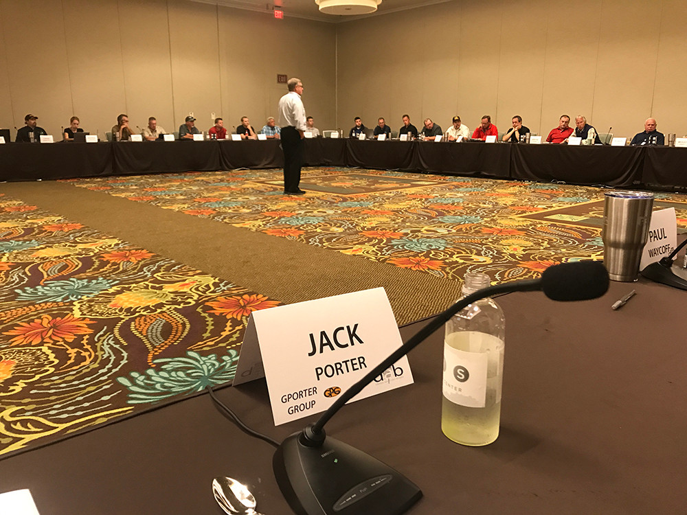 Jack Porter Moderates Prime Driver Advisory Board Meeting