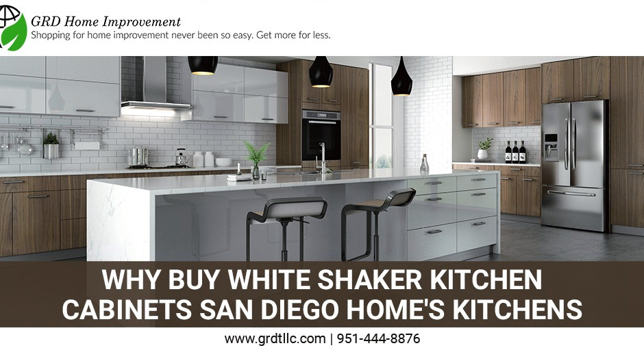 Why Buy White Shaker kitchen cabinets San Diego Home's Kitchens