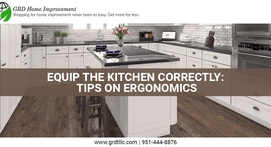 Equip the kitchen correctly: tips on ergonomics