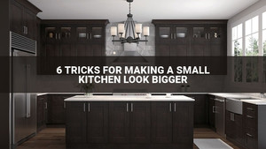 6 Tricks For Making A Small Kitchen Look Bigger