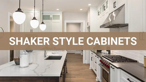 Shaker Style Still a Perfect Cabinetry Choice