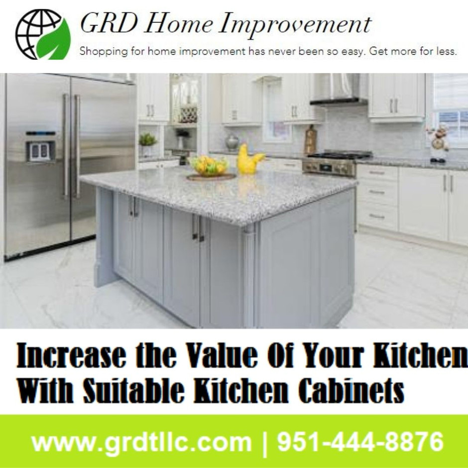 Increase the Value Of Your Kitchen With Suitable Kitchen Cabinets