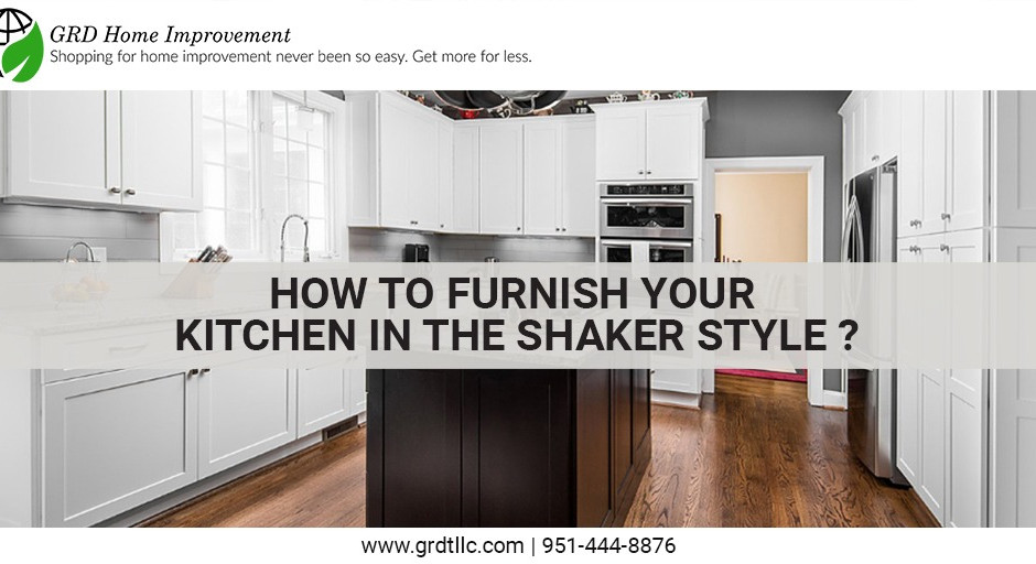 How to furnish your kitchen in the Shaker style?