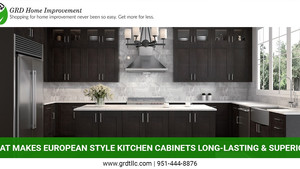 What Makes European Style Kitchen Cabinets Long-Lasting & Superior?