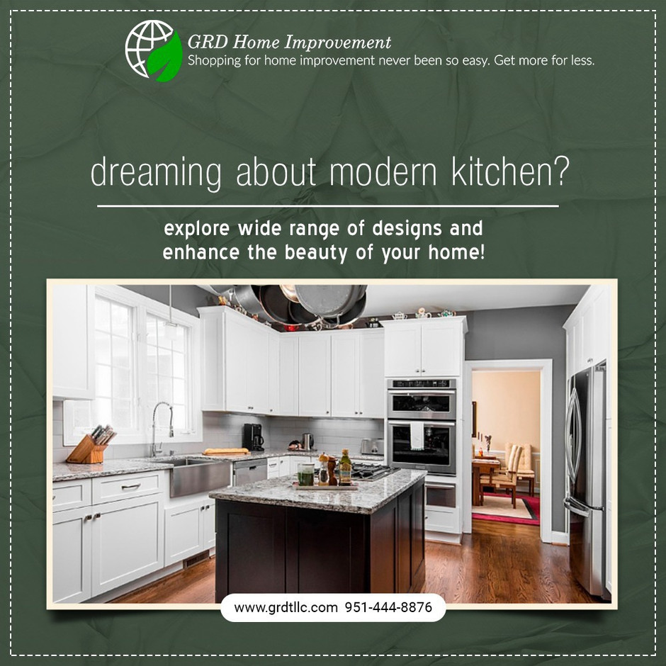 Kitchen Cabinets- Storage Options With Style