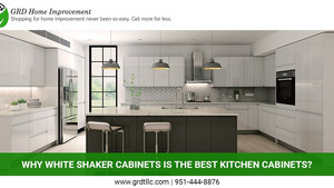 Why White Shaker Cabinets is the Best Kitchen Cabinets?