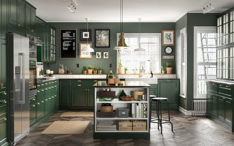 At What Height To Hang Kitchen Cabinets