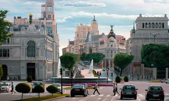 Madrid desde Alcala.