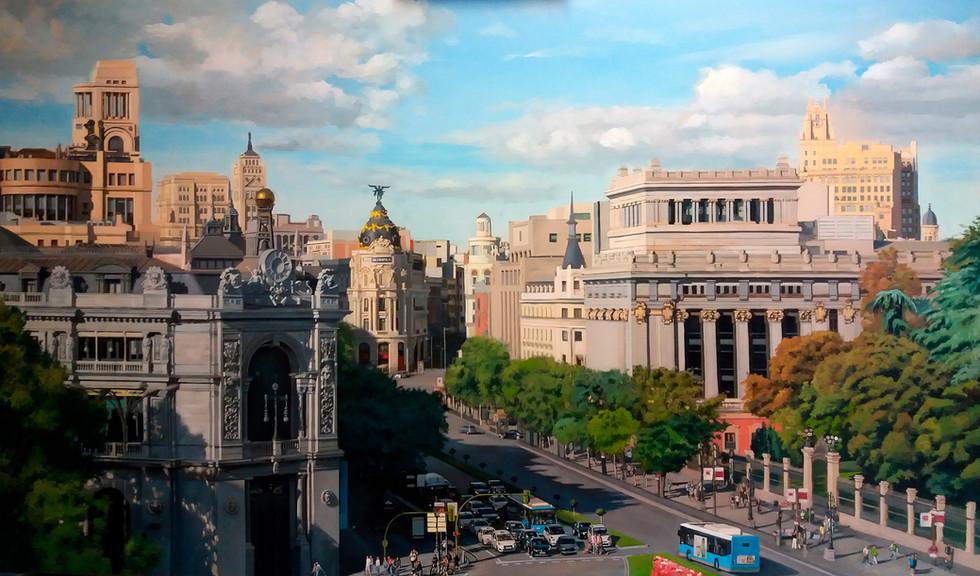 Madrid desde el Ayuntamiento.