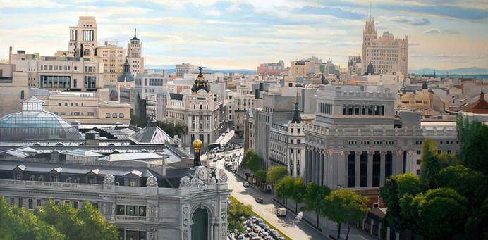 Madrid desde el Ayto.