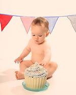 cake smash photography cornwall
