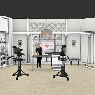 TV Shopping Network Studio