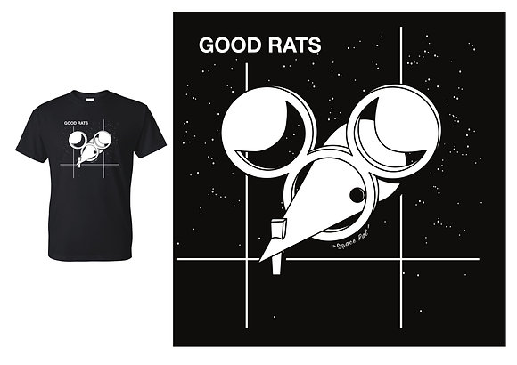 Space Rat T-shirt