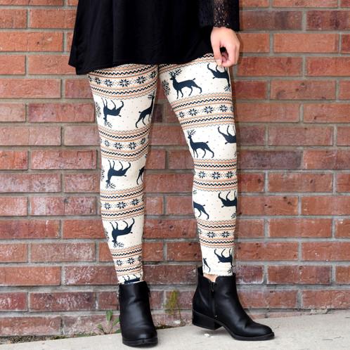 Cream Fair Isle leggings | Home | COPYCAT COUTURE