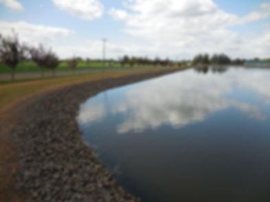 Lagoon Fargo notice water level after fl