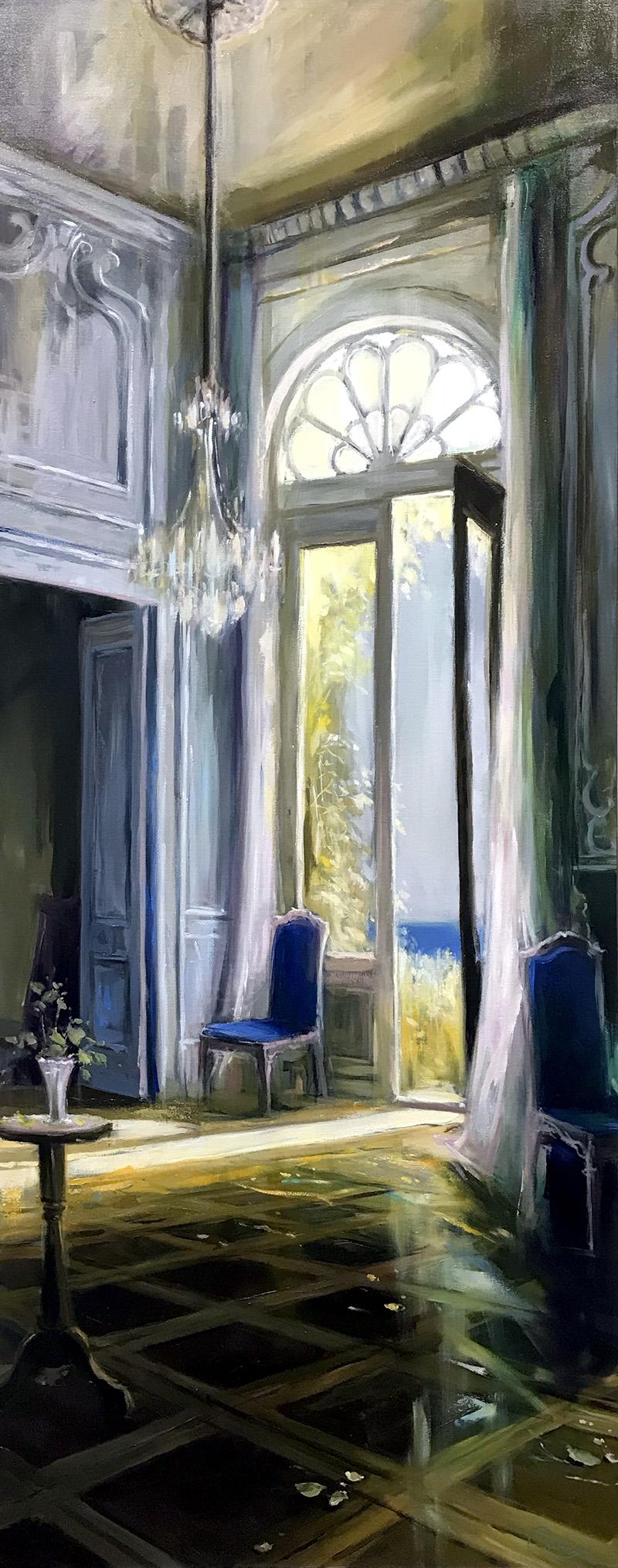 Blue Serenity 60x24