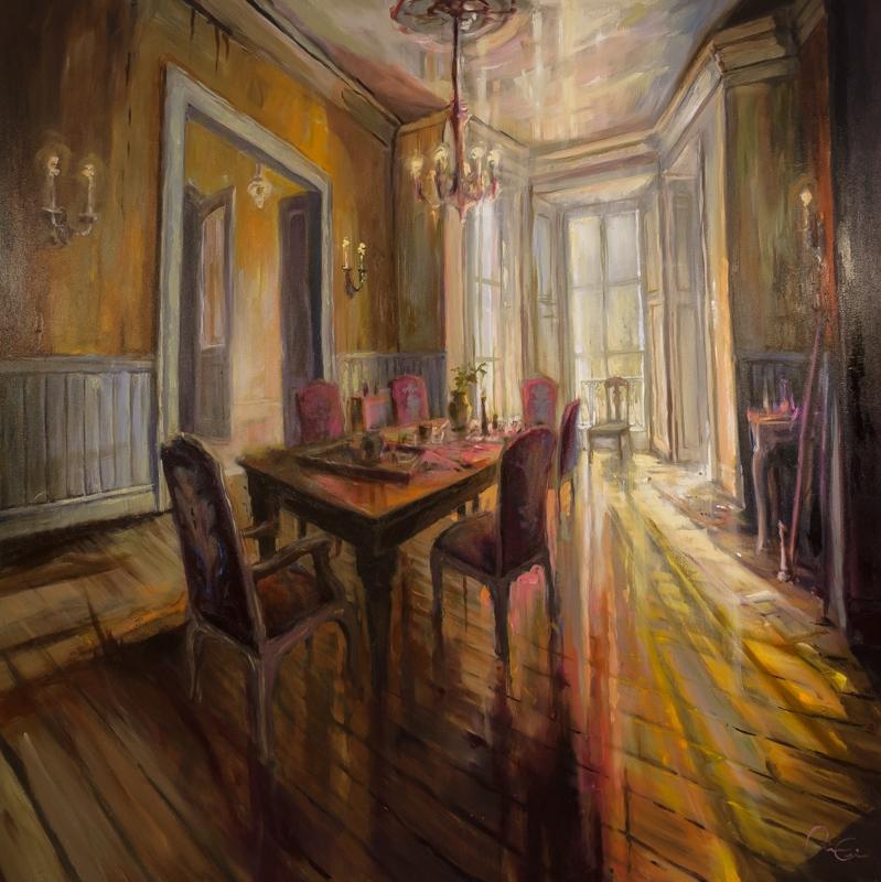Dining Hall 48x48