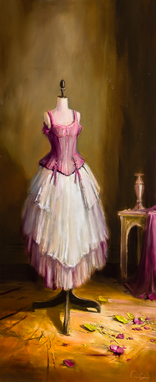 Mannequin en Rose 48x20