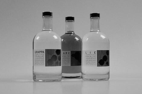 Etiquettes eau de vie