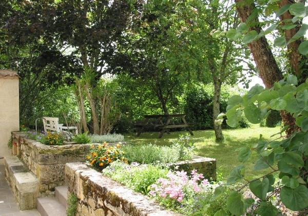 Un jardin ombragé