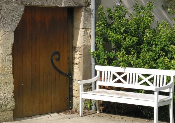 Une porte secrète