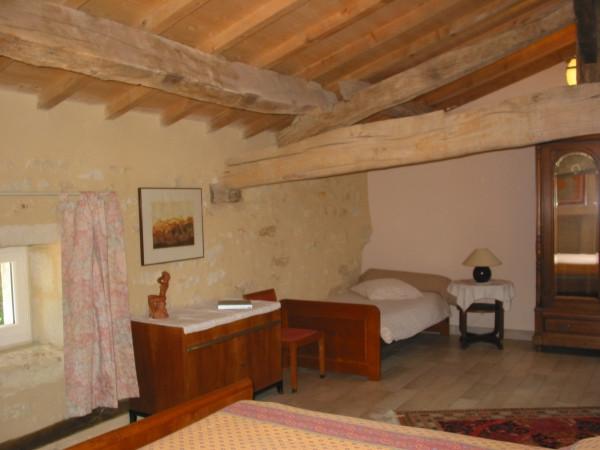 Chambre Adrien - un lit gigogne pour deux personnes