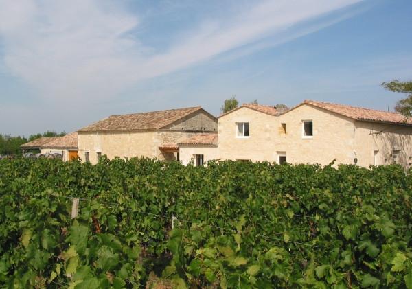 Nos vignobles entourent la maison d'hôtes