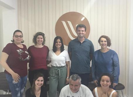 Aula de Focusing na Formação em Psicologia Clínica na ACP em Florianópolis
