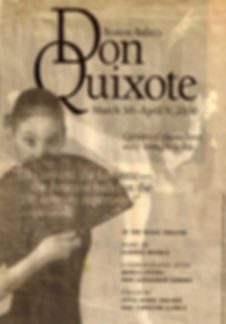 Boston Ballet Don Quixote staged by Caroline Llorca