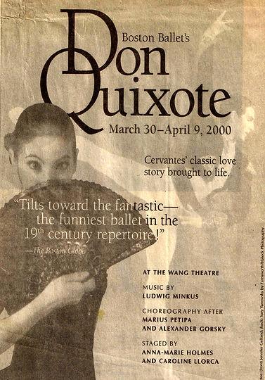 Boston Ballet Don Quixote staged by Caroline Llorca