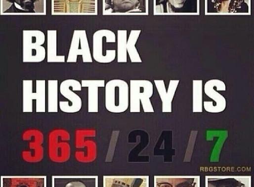 Celebrate 365/24-7 Black History By Mary Ellen Amaker