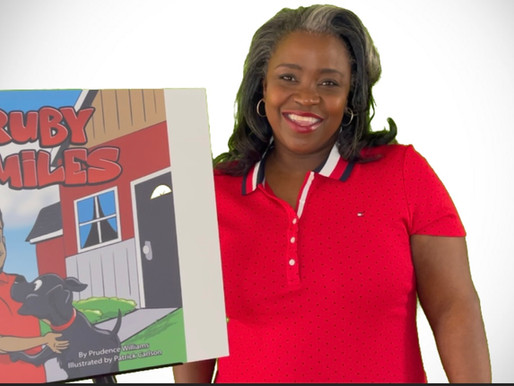 New Author and New Book Ruby Smiles by Prudence Williams