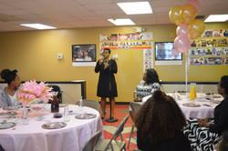Host Erika Speaking