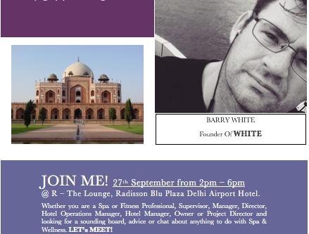 Meet Me in New Delhi!