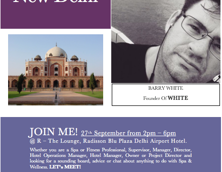 Meet Me in New Delhi!