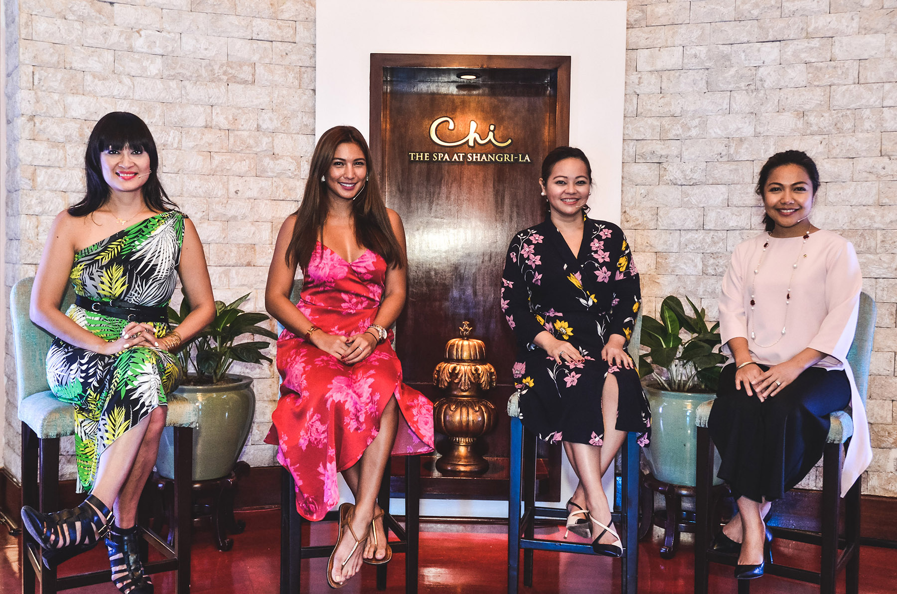 CHI Talks led by Myrza Sison, Bubbles Paraiso, Cheshire Que and Angel Pangilinan