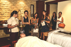 Interactive spa tour featuring CHI, The Spa's Ayurveda