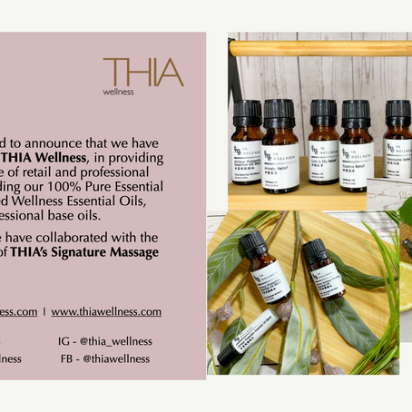 Announcing our partnership with THIA Wellness!