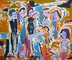 There's Some People on the Beach - Lifestyle Art Paul White (full)