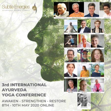 Subtle Energies and Ayurveda Yoga Australia -3rd International Ayurveda and Yoga Conference