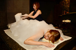 Interactive spa tour featuring CHI, The Spa's Turkish Hammam
