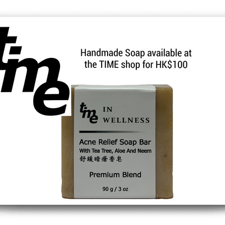 Handmade TIME Soap - Available Now