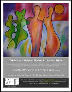 Exhibition 24 March - 17th April
